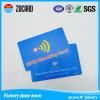 Datos promocionales de RFID que bloquean la tarjeta
