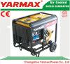 Groupe électrogène diesel simple refroidi par air de bâti ouvert de moteur diesel de cylindre de Yarmax Genset Ym7500ea