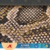 Leer van pvc van het Patroon Snakeskin van het nieuwe Product het Afgedrukte