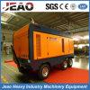 1200 cfm, 25bar Diesel de alta presión del compresor de aire de tornillo para la plataforma de perforación de pozos Weter