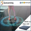 De LEIDENE Interactieve Dans Floor/LED Licht Dance Floor van het Stadium Floor/LED