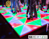 Usager 100cmx100cm DEL colorée acrylique Dance Floor RVB Dance Floor