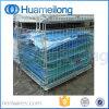 Складным гальванизированный хранением контейнер ячеистой сети для пакгауза