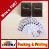 Super водонепроницаемый пластиковый покер, пользовательских печатных Poker 100% пластиковые карты