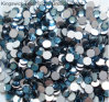 Ss16 (暗青い4mm) Highquality Crystal Flatback Rhinestones - (モンタナ) Hotfix無し