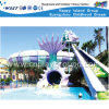 Crianças Parque Aquático engraçado dos desenhos animados de slides (HD-6903)