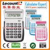 Чалькулятор 8 чисел Handheld с Слегка ударяет-вверх крышку (LC596)