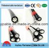 Alta calidad para el cable de gota aislado PE/XLPE de aluminio del conductor con precio bajo