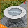 Indicatore luminoso sepolto LED esterno del prato inglese dell'indicatore luminoso 3 LED della lampada sotterranea solare solare del giardino con impermeabile