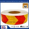 Belüftung-Bienenwabe-Pfeil-Entwurfs-reflektierender Aufkleber Rolls 5cm (CG3500-AW)