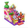 最近キャンディキャンデーの膨脹可能なスライドの膨脹可能な子供の弾力がある城