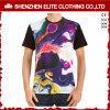 Custom Print Dry Fit Sports Round Neck Polyester Tee Shirt (ELTMTJ-123)