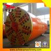 Tubulação automática da sargeta dos metros de China que levanta a máquina