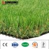 Paisaje al aire libre del color verde de hierba artificial