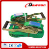 75mm 10 Ton Ratchet Lashing Cargo Lashing