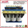 tension 75kVA automatique triphasée réduisant le transformateur d'hors-d'oeuvres (QZB-J-75)