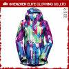 Добавочной куртки Snowboard размера напечатанные сублимацией для женщин