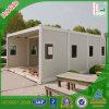 El bastidor de acero de contenedor de materiales de construcción de casas prefabricadas