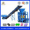 Bloco de cimento Qt4-26 que faz a máquina de fatura de tijolo Semi automática da máquina