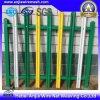 Enduit de PVC de haute sécurité de la palissade de clôtures de jardin en métal soudé