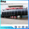 반 46000L 3 차축 디젤유 연료 휘발유 탱크 트레일러