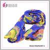 Способа полиэфира 2015 шарф 100% горячего печатей лепестка Silk (SNQNG2007)
