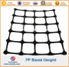 Plástico PP Polypropylene Biaxial Geogrid com CE Certficate