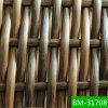 옥외 가구 소파는 PVC 고리 버들 세공 물자 Bm 31708를 놓는다