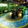 新しいデザイン- 3D適性のトレーニングのための多彩なゴム製体操の床