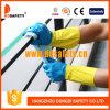Ddsafety 2017 перчаток Bicolor домочадца латекса работая