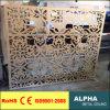 Façades et revêtements personnalisés perforés extérieurs de panneau de mur rideau d'aluminium