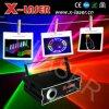 Lumières à rayon laser du DJ de Noël d'étape décorative de disco avec la carte Disply (X-RGB710C) d'écart-type d'animation