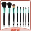 Black Wooden Handleの専門家8PCS Makeup Brush Set