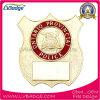 La policía de encargo barata del metal de la fuente Badge