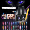 51023X Wholesaler OEM 7.3ml Canni Nail Art 24 Magic Colors Magnetic Cat Eyes UV Gel Polish