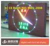 Reloj LED HD de pantalla LED de color