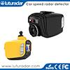 Came de tableau de bord de détecteur de radar de FHD 1080P GPS avec l'enregistreur vidéo de l'appareil-photo DVR de véhicule de version de nuit