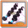 毛Waveおよび100%のブラジル人人間の毛髪のHair Extension