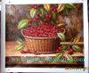 Pittura a olio, pittura a olio della frutta, ancora pittura a olio di vita