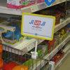 Магазины розничной торговли Plastic Display Holder с Thumb Shape Clip