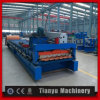 El panel acanalado galvanizado de la hoja de acero del azulejo de material para techos que hace la máquina