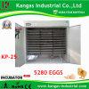 La volaille automatique agricole Eggs l'incubateur Hatcher