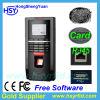 Горячая продавая посещаемость системы и времени контроля допуска фингерпринта с бесплатным программным обеспечением (HSY-F5)