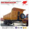 2 Axle 20cbm 30ton-50ton груза тележки Tipper трейлер Semi