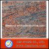 El rojo de Mulitcolor del granito hace que la losa del fregadero de la piedra sepulcral embaldosa (DES-GT030)