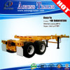 두 배 Axles Sliding 20ft/30ft/40ft Extendable Frame Skeleton Trailer Chassis
