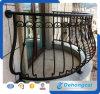 Kundenspezifisches nicht rostendes/Antiseptikum/Qualitäts-Energien-überzogene Sicherheits-Stahlzaun für Balkon