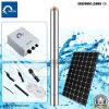 Gleichstrom-Sonnenenergie-versenkbares Wasser-Pumpen-Öl - gefüllter Typ 4qgd