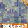 Formato della miscela di colore blu Piscina Mosaico di vetro (H455003)