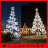 LED Outdoor Christmas Decoration Light 3D Motif Ball Tree